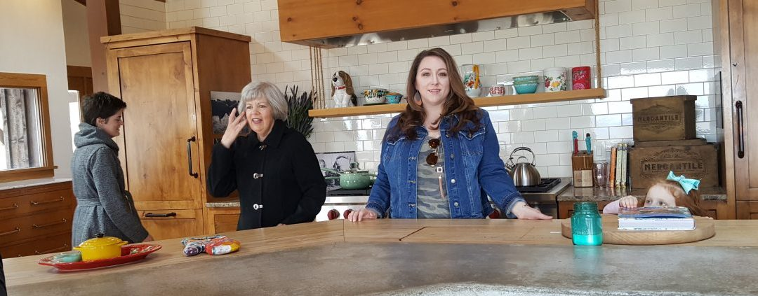 Epic Views, Cooking Show sets, and adopted Grandparents at the Pioneer Woman Lodge Tour