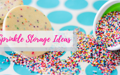 Sprinkle Storage Ideas