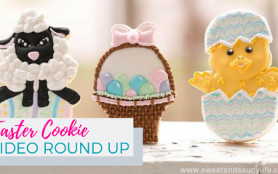 Easter Cookie Video Tutorial Round-Up