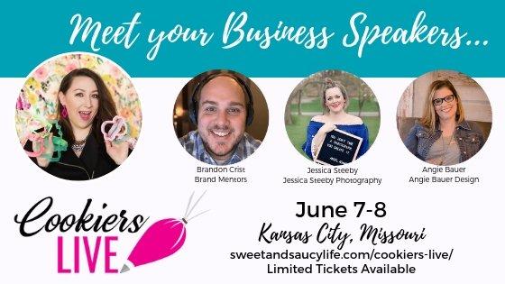 Cookiers LIVE: Meet Your Speakers