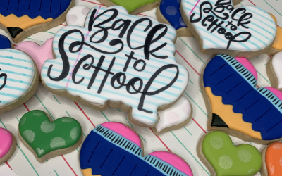 Back To School & Teacher Appreciation Cookies