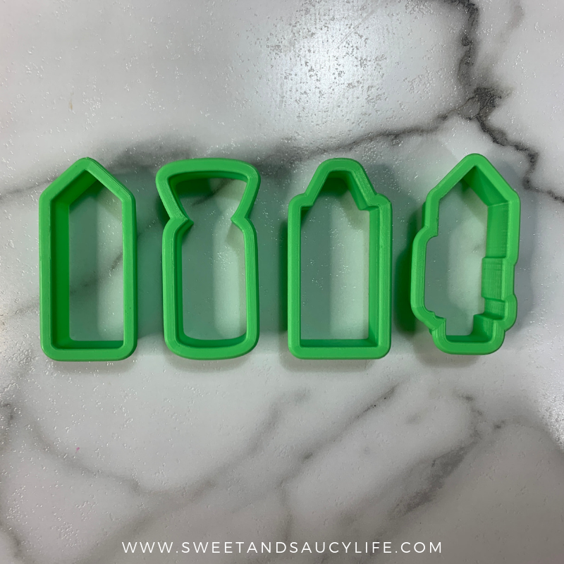 Back To School Cookie Cutters