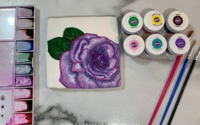 Watercolor Rose Tutorial