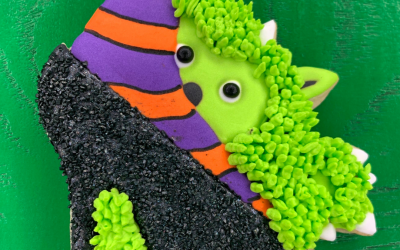 Horace the Halloween Monster Cookie