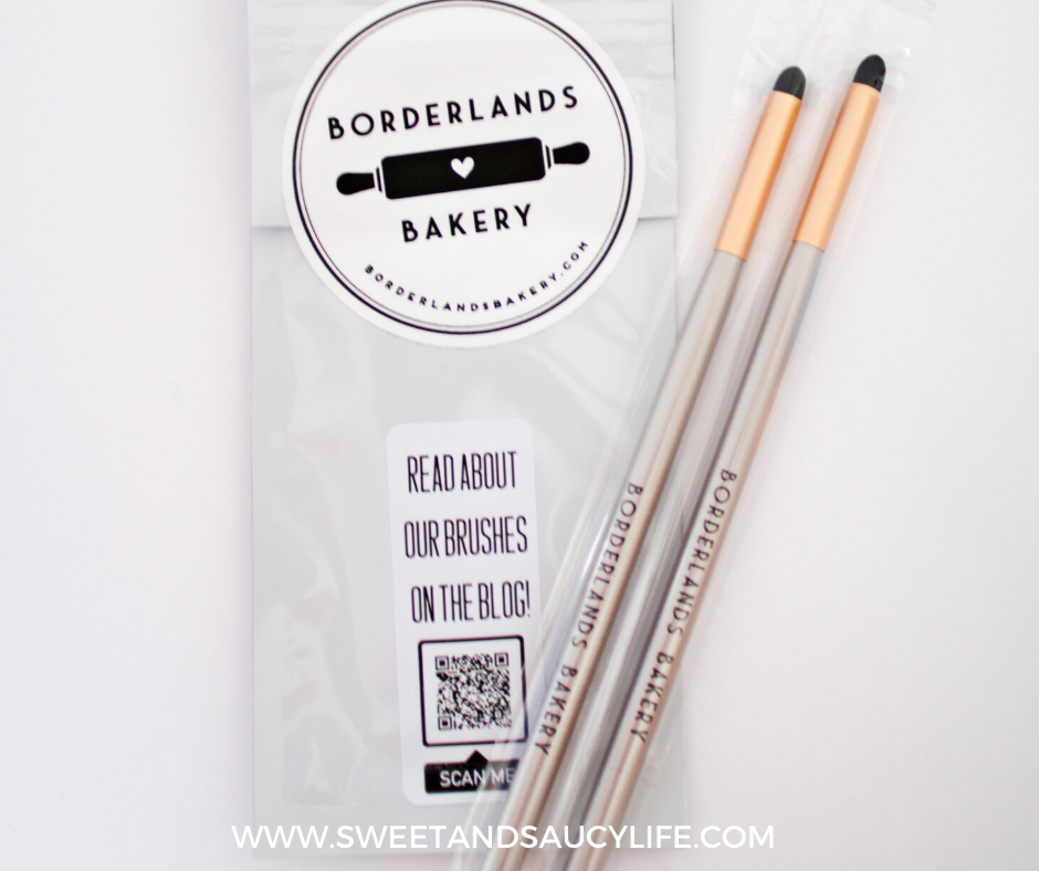 Borderland Bakery Dot Brushes
