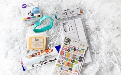 Sweet & Saucy Life Subscription Box Reveal – Watercolor Box