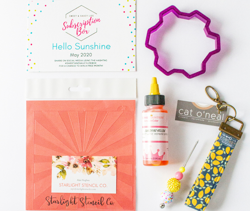 Hello Sunshine Sweet & Saucy Life Subscription Box