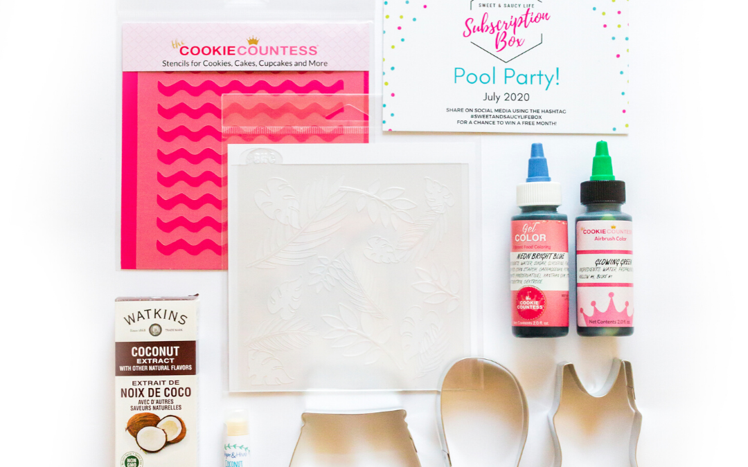 "Sweet & Saucy Life Subscription Box Reveal – ""Pool Party"" Box"