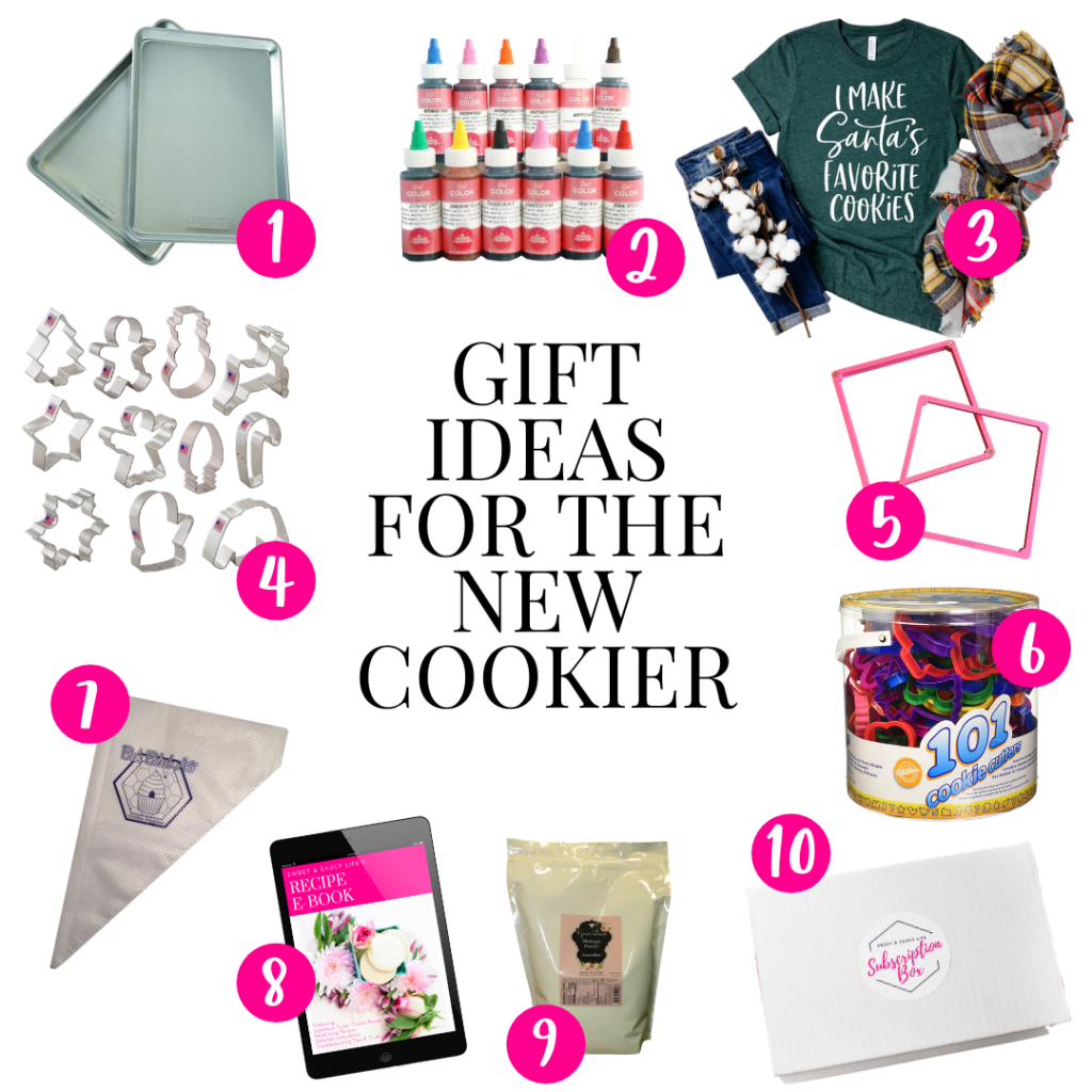 Holiday gift ideas for the new cookier