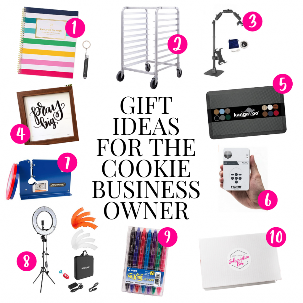 Gift ideas for the cookie business owner