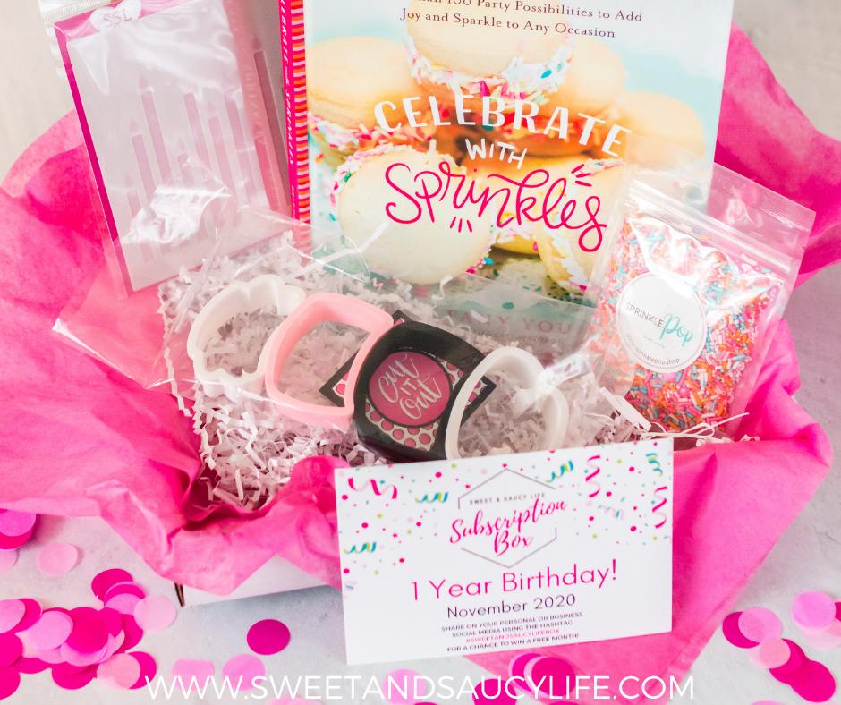 November Sweet & Saucy Life Subscription Box - Birthday