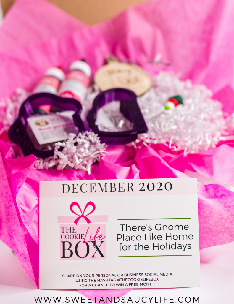 December Cookie Life Box - There's No Place Like Gnome for the Holidays