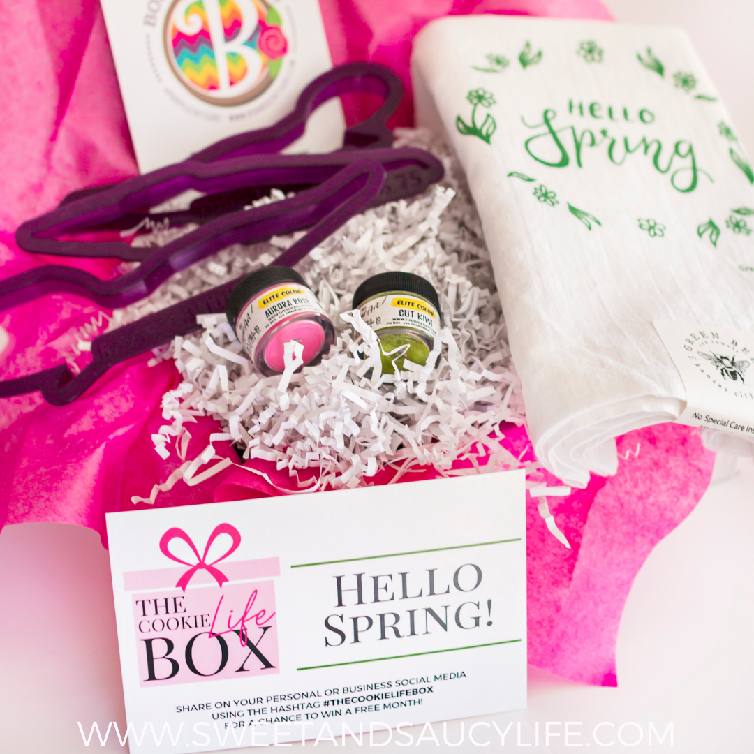 """The Cookie Life Box March 2021 - """"Hello Spring"""""""