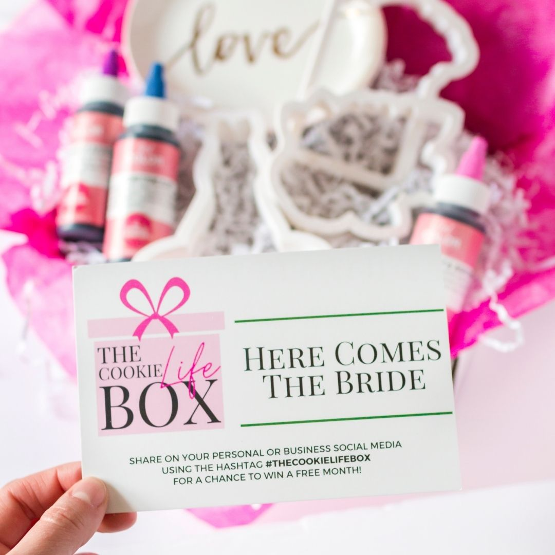 "The Cookie Life Box March 2021 - ""Hello Spring"""