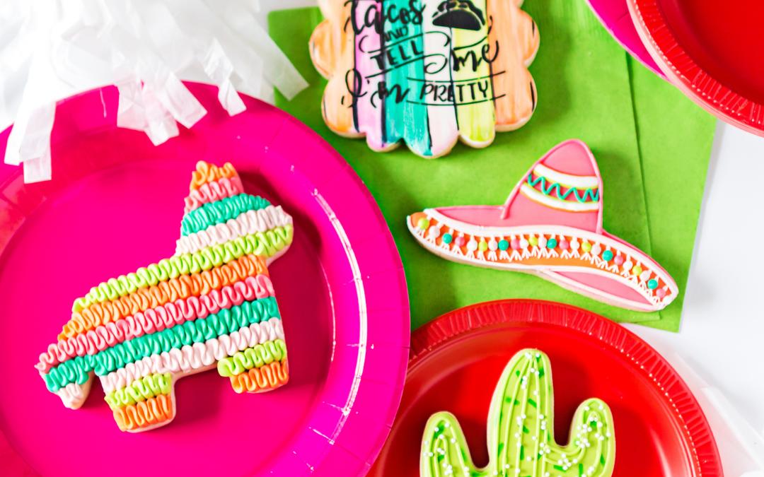 Cactus & Piñata Cookies
