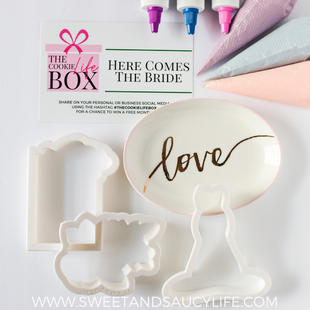 """The Cookie Life Box - """"Here Comes the Bride"""""""