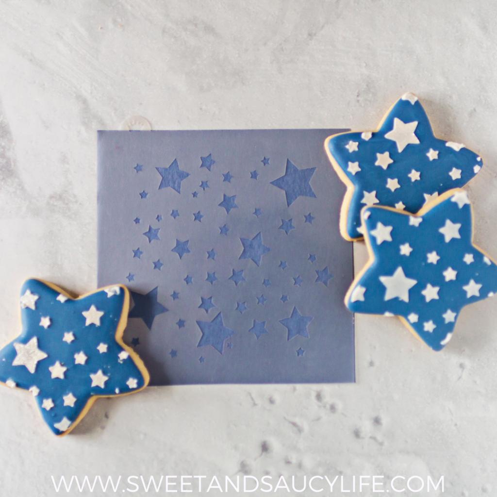 Patriotic Stars & Stripes Cookie Platter Tutorial